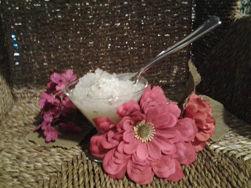 Lemon & Rosemary Foot Scrub w/ Dead Sea Salt