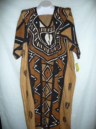 Multicolor Mud Dress