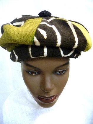 Multicolor Mud Cloth Hat