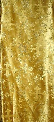 Gold Asian Fabric