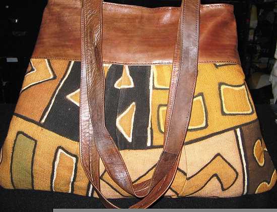 Leather & Cloth Bag