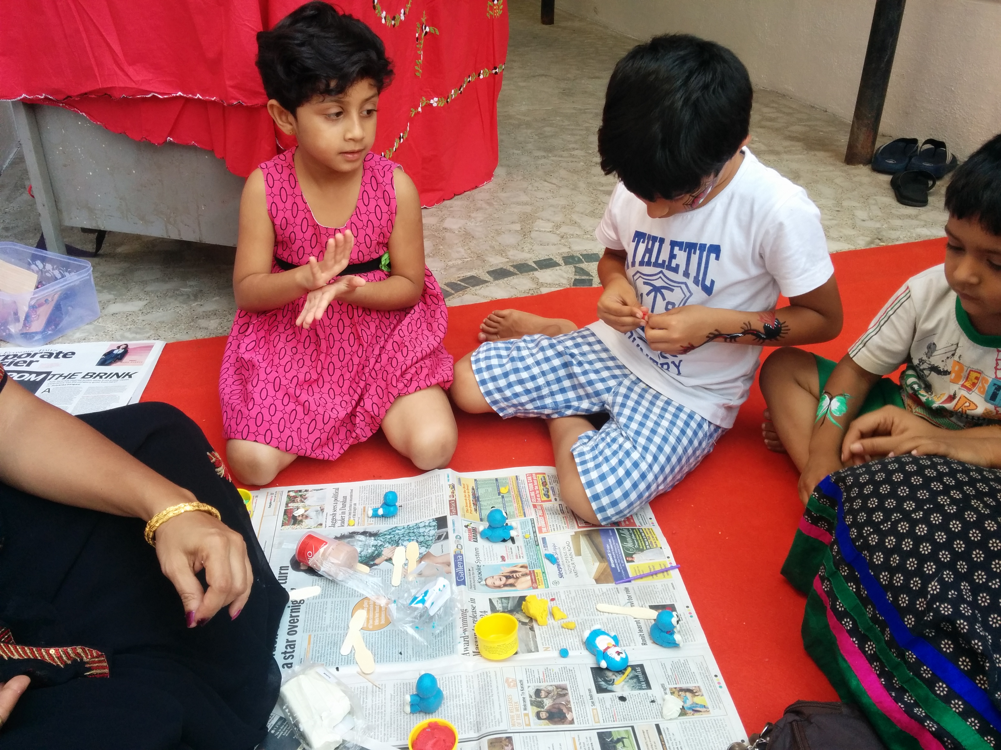 Terracotta Workshop for Children's