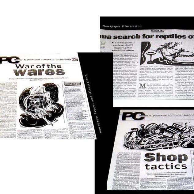 Illustrations Australian Newspaper