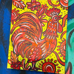 Rooster rocking