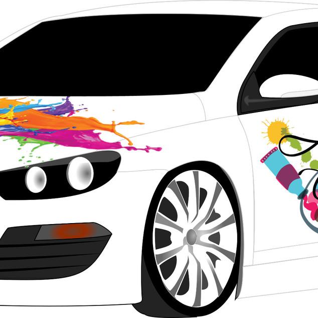 Car Wrap Mockup_Art Class