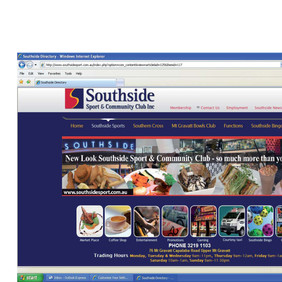 Website Design for Southside Community Club