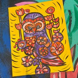 Kalidescope Owl