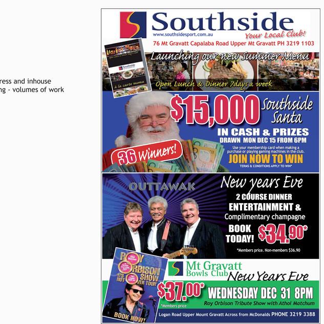 Advertising Southside Community Club