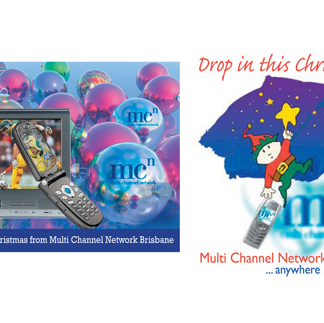 Commercial advertising Mockups_Multi Media Channel