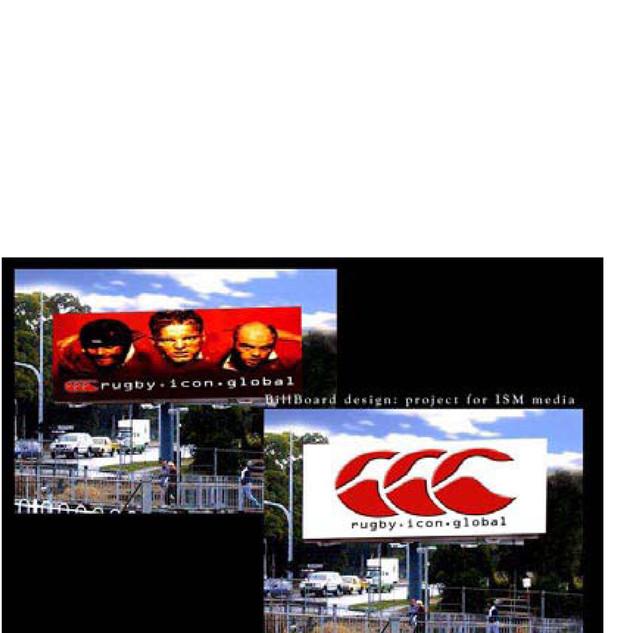 Billboard Design Commercial advertising channel nine