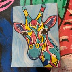 Jigsaw Giraffe