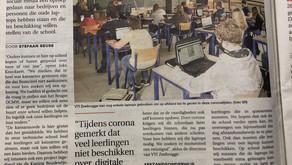 Bedrijf schenkt 20 laptops