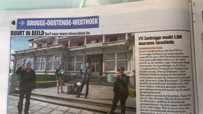 VTI Zeebrugge schenkt faceshields