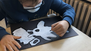 Streetart artiest Wietse inspireert leerlingen 1A
