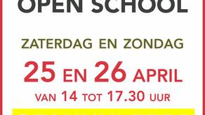 Openschooldagen geannuleerd