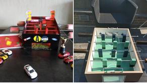 Creatieve Corona-opdrachten: maak een voetbaltafel