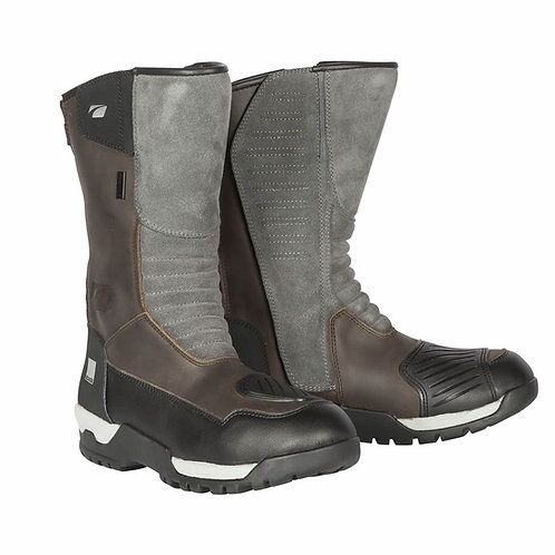 Spada Stelvio Touring Boots Oil Distressed Brown