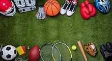 Various-Sport-Equipments-On-Grass-949190