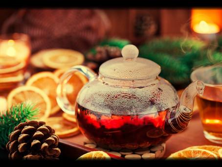 Spiked Winter Spice Tea