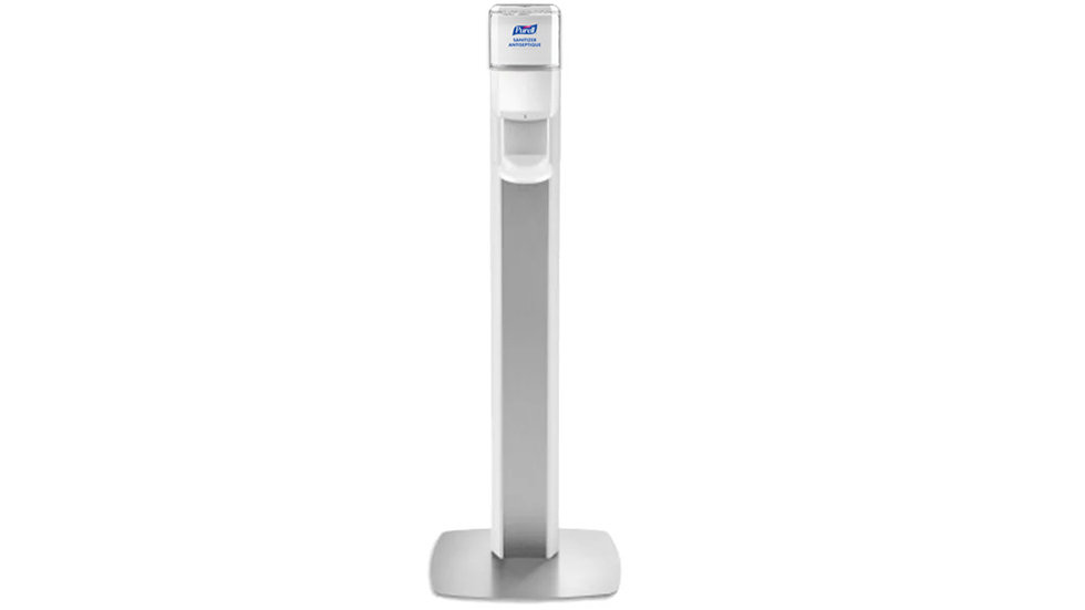 PURELL ES6 FLOOR STAND WITH TOUCH FREE 1200ML DISPENSER
