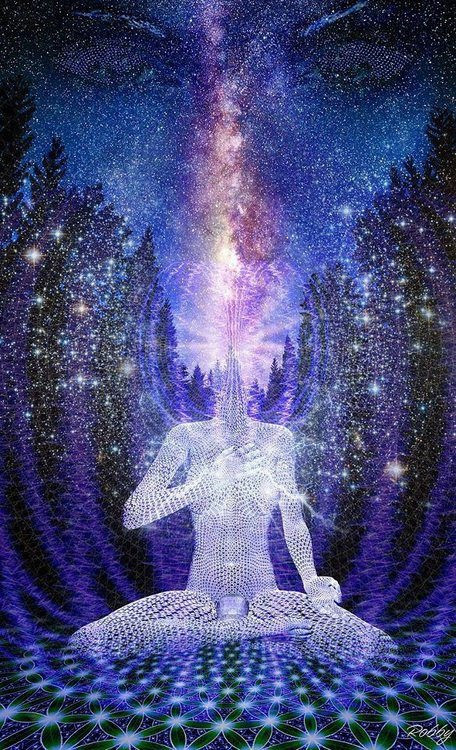 connecting to higher vibrational entities