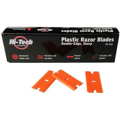 Double-Edge Plastic Razor Blades