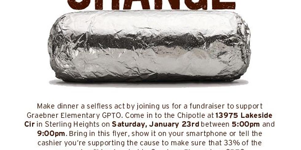 Chipotle Restaurant Fundraiser