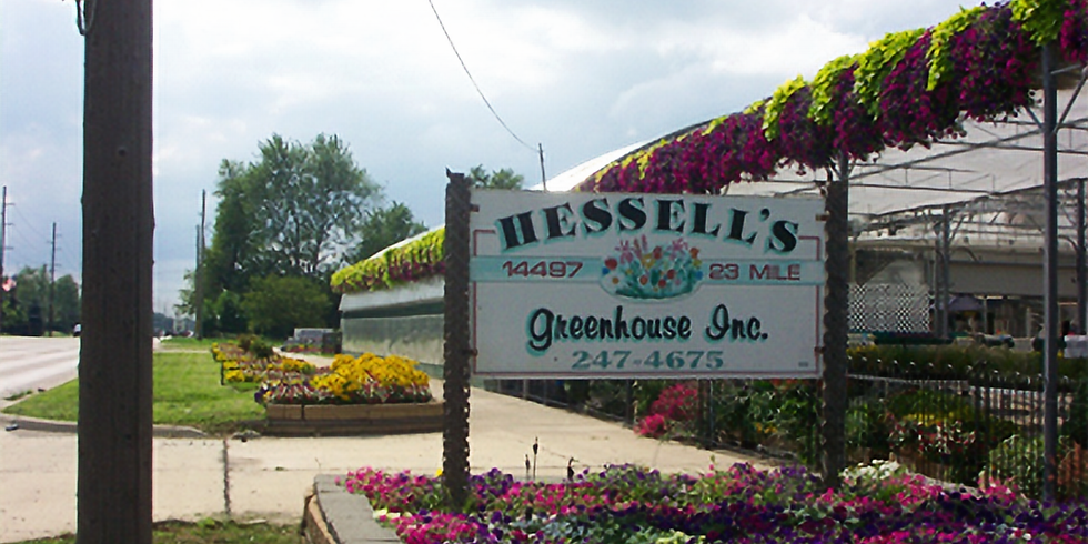 Hessell's Greenhouse Gift Card Fundraiser