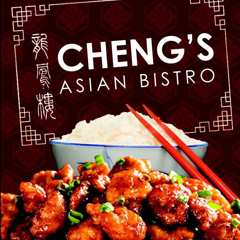 Cheng's Asian Bistro Restaurant Night