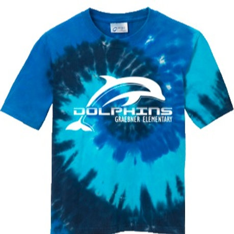 Ocean Rainbow Tie Dyed T-shirt