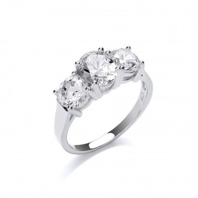 'Looks Like Diamonds' Ring