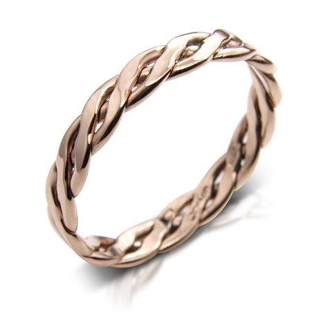 Celtic Plait Sister Ring