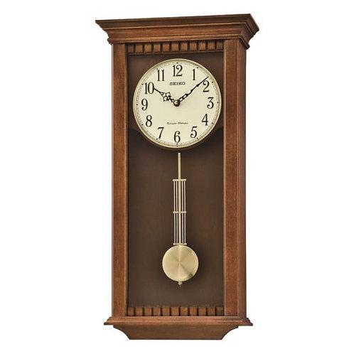 Seiko Pendulum Long Case Chiming Wall Clock QXH064B