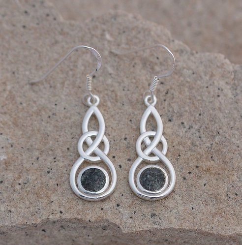 CELTIC ROUND KNOT EARRINGS