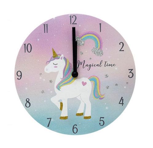 Magical Time Unicorn Wall Clock