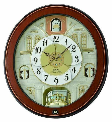 Seiko Musical Melody In Motion Wall Clock QXM368B