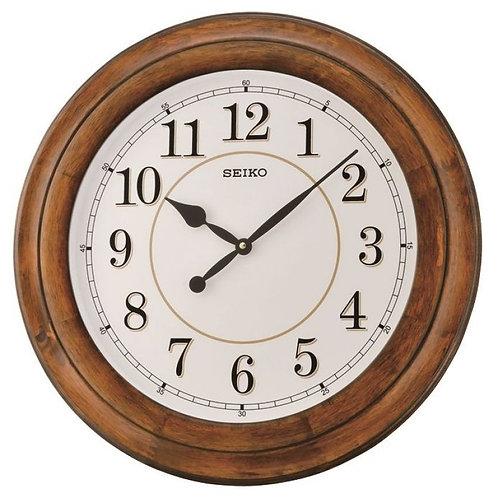 Seiko Extra Large Wooden Wall Clock QXA639B