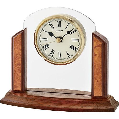 Seiko Wooden Mantel Clock QXG148Z
