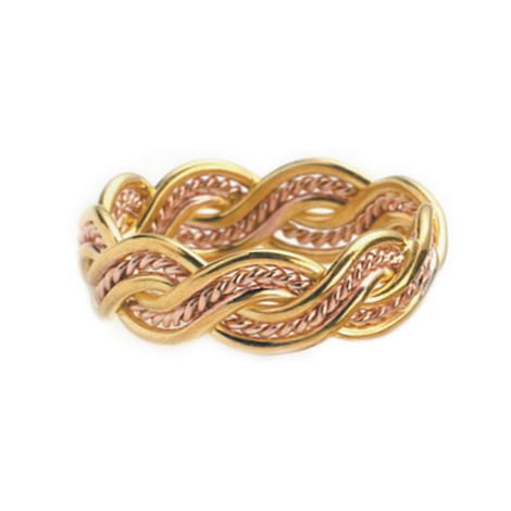 Lovers Weave Ring