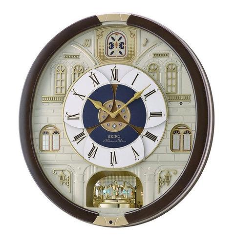 Seiko Marionette Brown Melody Wall Clock QXM371B