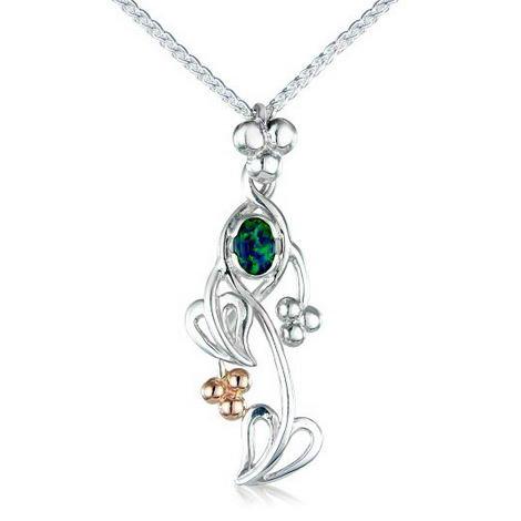 Gemstone Tree of Life Designer Pendant