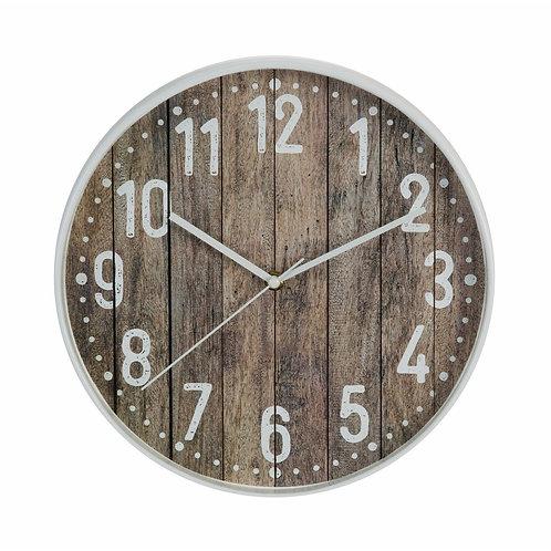 Hometime Rustic 30.5cm Wall Clock