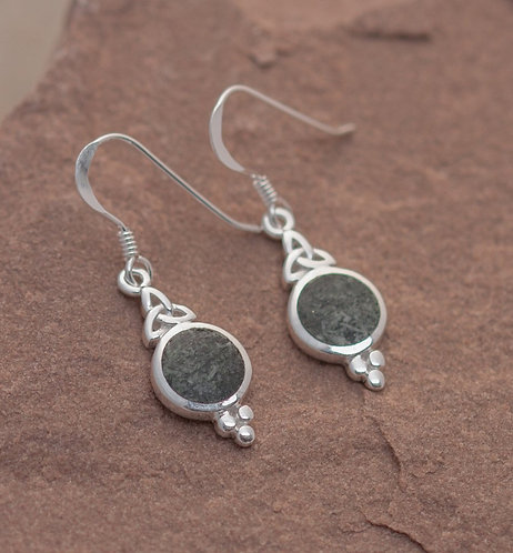 TRIQUETRA EARRINGS, MIND, BODY AND SPIRIT