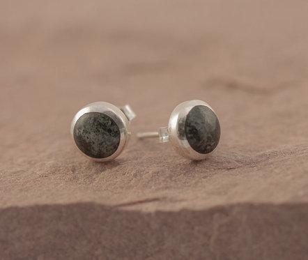 NEW MOON STUD EARRINGS