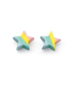 Pastel Star Studs