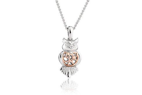 Tree of Life® Touchwood Owl Pendant