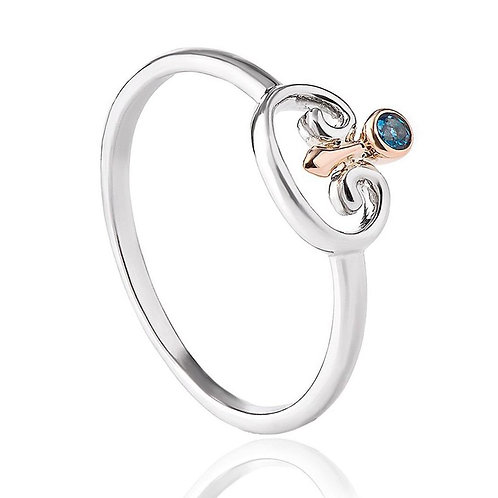 Kensington Palace London Blue Topaz Ring