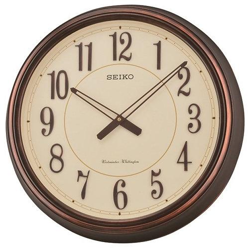 Seiko Chiming Wooden Wall Clock