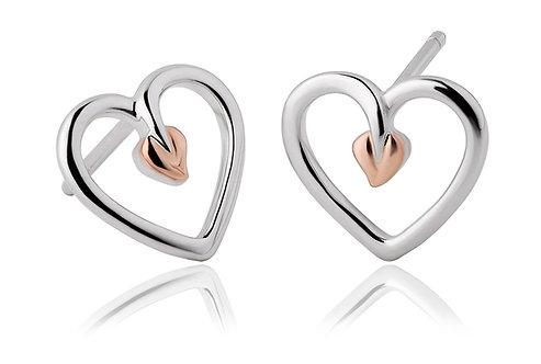 Tree of Life® Heart Stud Earrings