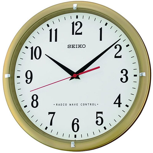 Seiko Wall Clock Radio Controlled QXR302G